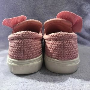 ASOS Shoes | Pink Knitted Twist Slip On